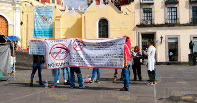 Denuncian incumplimiento de Asombra en primaria de San Marcos de León en Xico