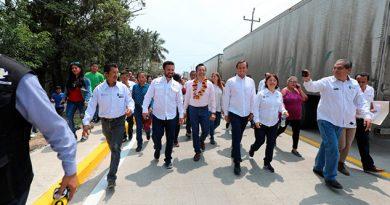 Destinan 40 mdp para carreteras de la zona norte de Veracruz