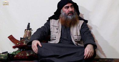 El líder de ISIS al-Baghdadi aparece por primera vez en 5 años