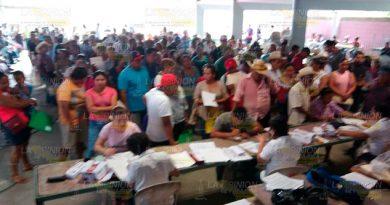 Entregan tarjetas del programa Sembrando Vida en Cazones de Herrera
