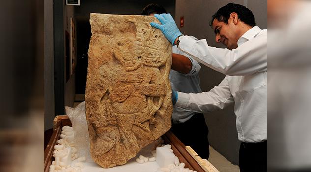Estados Unidos repatria a México un fragmento de la Estela 2 del sitio maya La Mar, en Chiapas