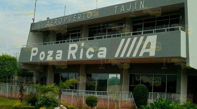 Estancada gestiones en el aeropuerto Tajín