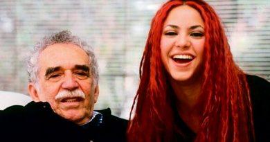 Gabo quería escribir sobre mí Así recordó Shakira a García Márquez