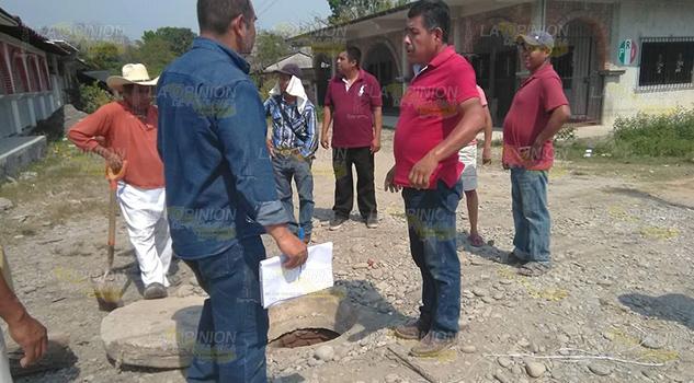 Habitantes de las Lomas, en Coyutla, realizarán acciones de desazolve