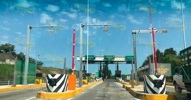 Habrá apertura total en casetas de peaje sobre la México - Tuxpan