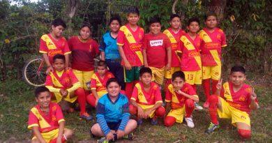 Incentivan a niños de Entabladero en el deporte, buscan formar equipo competitivo