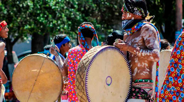 Indígenas celebran la Semana Santa Rarámuri