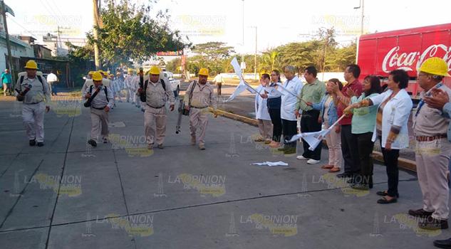 Inicia jornada Masiva de Eliminación de Criaderos de moscos en Coatzintla