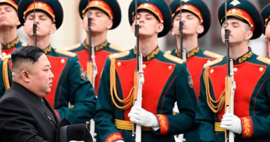 Kim Jong-un llega a Rusia para su primera cumbre con Putin