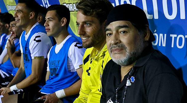 Maradona anuncia que dejará a Dorados al finalizar el C2019