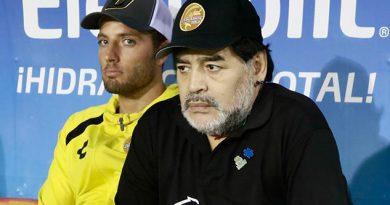 Maradona dijo que tiene 'un montón de ideas para el próximo Dorados'