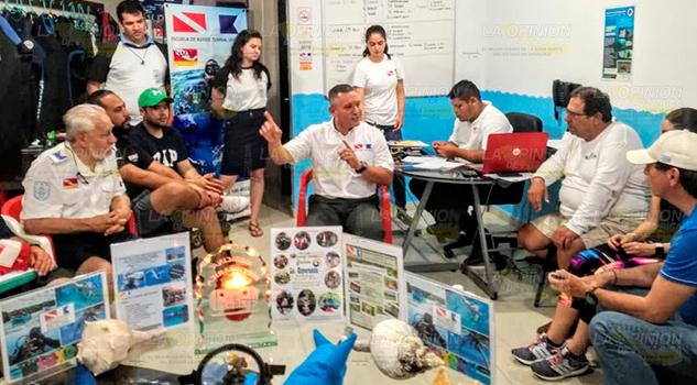 Mayor protección al sistema de arrecifes en Tuxpan