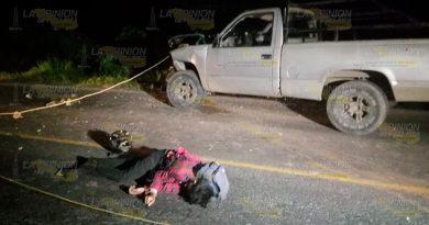 Mecánico encontró de frente a la muerte sobre la Poza Rica - Cazones
