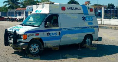 Motociclista ebrio derrapa sobre la carretera Álamo - Limonar