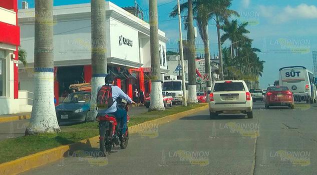 No emplacan motocicletas en Tuxpan