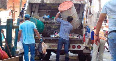 No se suspenderá servicio de limpia pública en Álamo