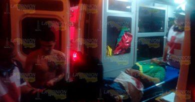 Obrero es apuñalado al resistirse a un asalto en Tuxpan