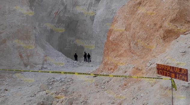 Obrero muere en derrumbe de mina en Corral Viejo, Chicontepec