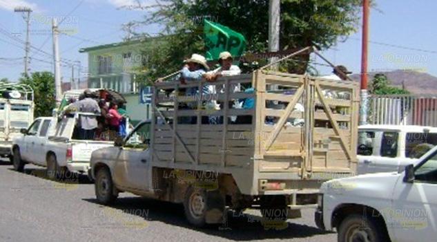 Pirataje de transporte público va en aumento en Huautla, Hidalgo