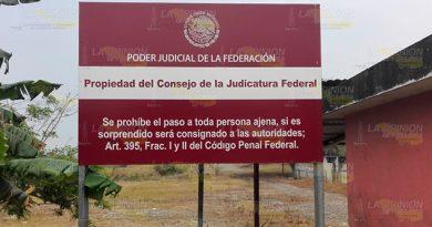 Postergan el arranque de la Ciudad Judicial para Tuxpan
