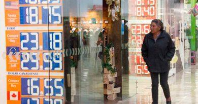 Promedia el dólar a la venta los $18.77 en el AICM