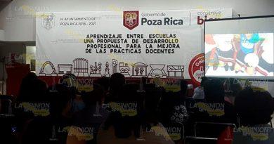 Promueven educación inclusiva en Poza Rica
