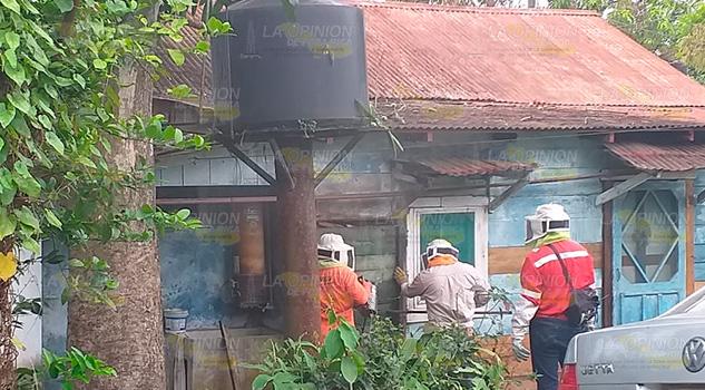 Protección Civil previene accidentes en colonias de Cerro Azul