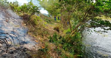 Retiran basura del río San Marcos en Venustiano Carranza