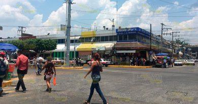 Retirarán a vendedores ambulantes del centro de Poza Rica