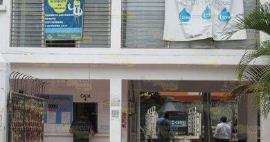 S.O.S. en oficina de CAEV de Álamo