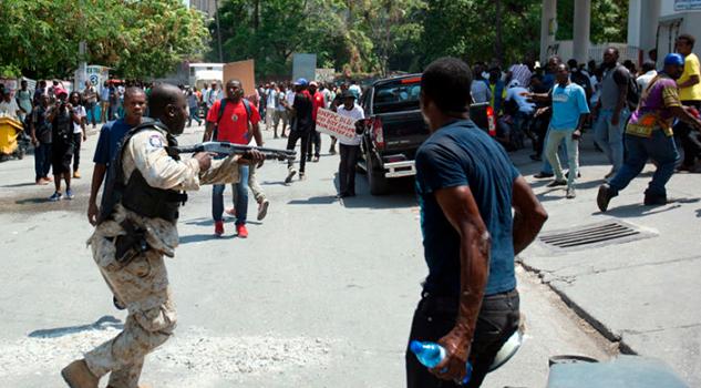 Se registra tiroteo junto a la embajada de EUA en Haití