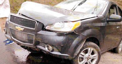 Sufre familia aparatosa volcadura en la carretera Tuxpan - Tampico
