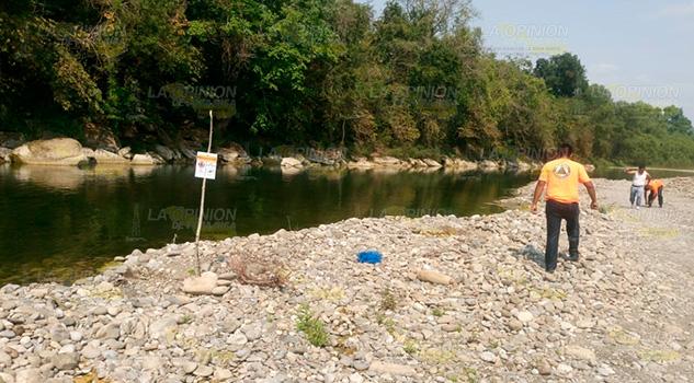 Supervisa PC zonas de gran peligro en el río San Marcos