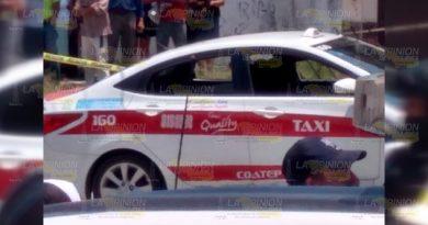 Taxista ejecutado en la colonia El Manantial de Coatepec, Veracruz