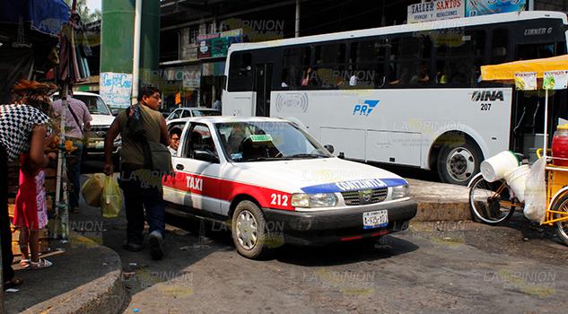 Taxistas foráneos invaden Poza Rica
