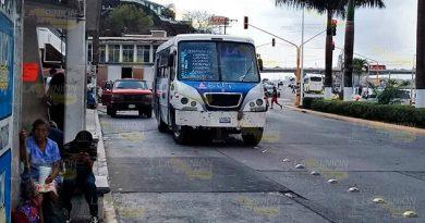 Transportistas de Tuxpan insisten en ajuste de tarifas