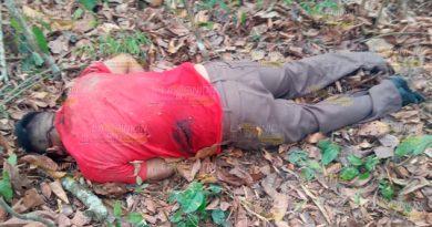 ¡Hombre ejecutado en Tihuatlán!