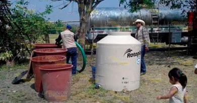 Acciones emergentes en la Sierra De Otontepec por la falta de agua
