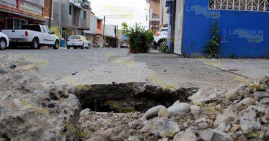 Afecta CAEV más avenidas en Poza Rica