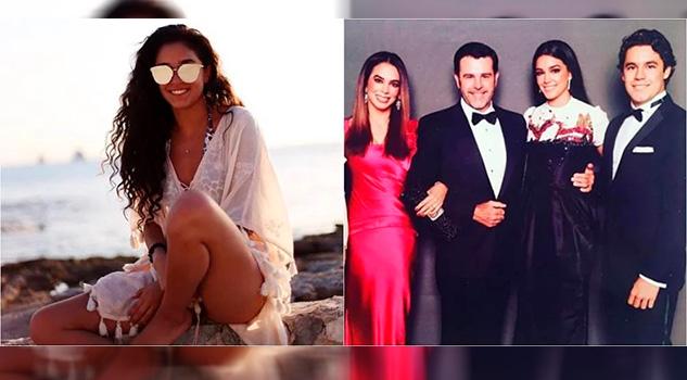 Alejandra Capetillo cautivó a seguidores luciendo antiguo vestido de Bibi Gaytán
