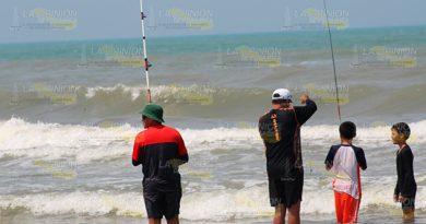 Atractivo Torneo de Pesca el domingo en Playa Azul