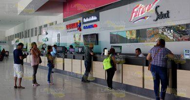 Aumentan viajeros, salidas y los precios en la CAPOR