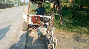 Comerciante rebota contra un tractocamión en Tuxpan
