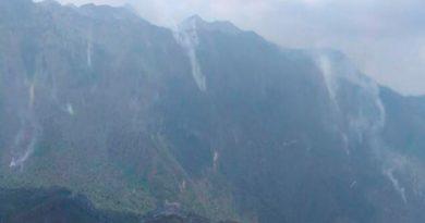 Continúa incendio en la selva de Los Chimalapas, Oaxaca