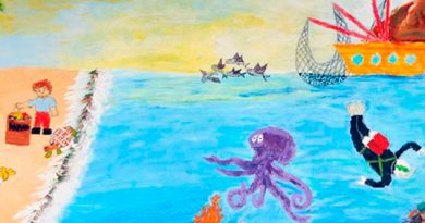 """Convocan a concurso de pintura """"El Niño y la Mar"""""""