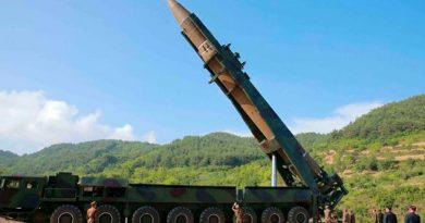 Corea del Norte dispara misiles de corto alcance desde la costa este