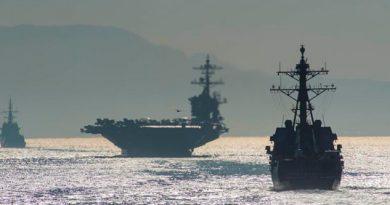 """E.U.A. despliega fuerzas por """"amenazas"""" de Irán"""