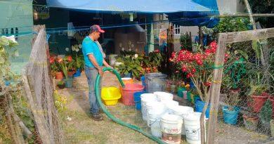 Emplean acciones para contrarrestar el estiaje en Naranjos