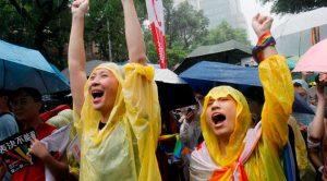 En fallo histórico, Taiwán aprueba matrimonio homosexual