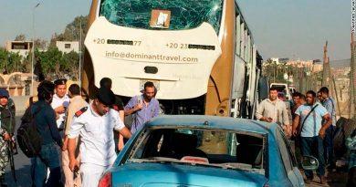 Explosión de autobús turístico deja 14 heridos